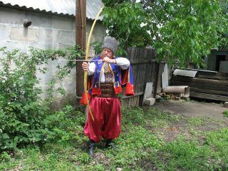 Потомок запорожских казаков живет в посёлке на Луганщине
