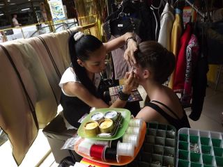 Стилисты, визажисты, парикмахеры показывают свое умение на  выставке в Луганске (фото)
