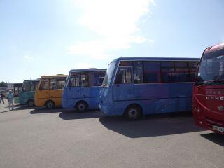В Луганске устроили экзамен для перевозчиков (фото)