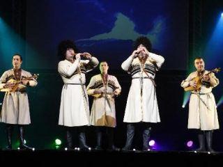 Уникальное грузинское шоу представит в Луганске ансамбль ERISIONI
