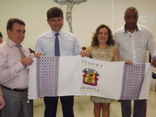 Луганск и Сантос: как любители футбола свои города «подружили»  (фото)