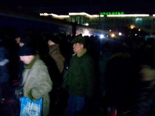 Луганских активистов провожают на Антимайдан в Киев (фото)