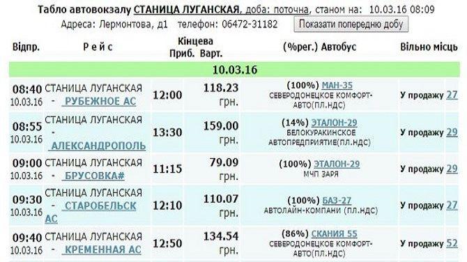 Расписание маршруток купянск