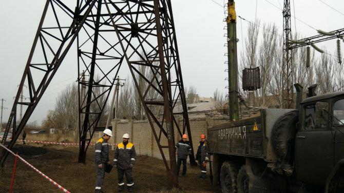 В Красногоровке восстановили стабильное энергоснабжение +