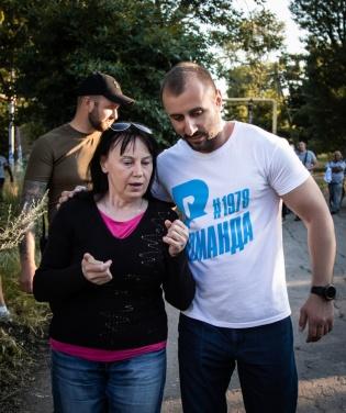 В Новодружеске команда депутата Сергея Рыбалка начала ремонт центральных улиц