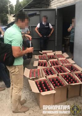 На Луганщине изъяли более 3 тыс. литров фальсифицированного алкоголя