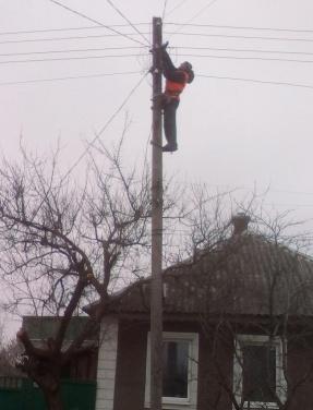 «Горсвет» за сутки восстановил освещение на 13 улицах Луганска