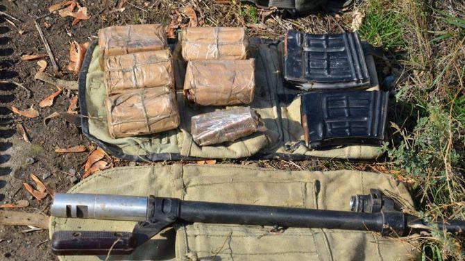 У жителя Лисичанска нашли арсенал боеприпасов +