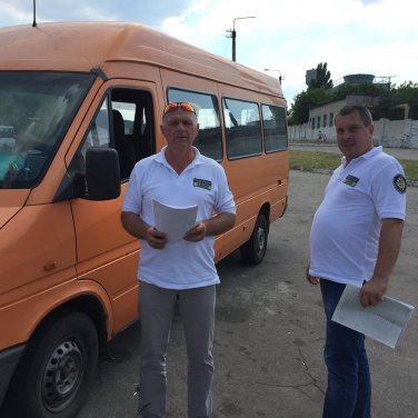 В Лисичанске проверили работу маршруток +