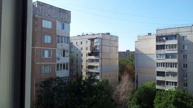 Последствия обстрела Луганска: Городок завода ОР +