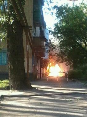 В Донецке под обстрел снова попала Путиловка (фото, видео)
