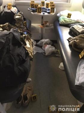 Задержаны военнослужащие, устроившие стрельбу в пассажирском поезде