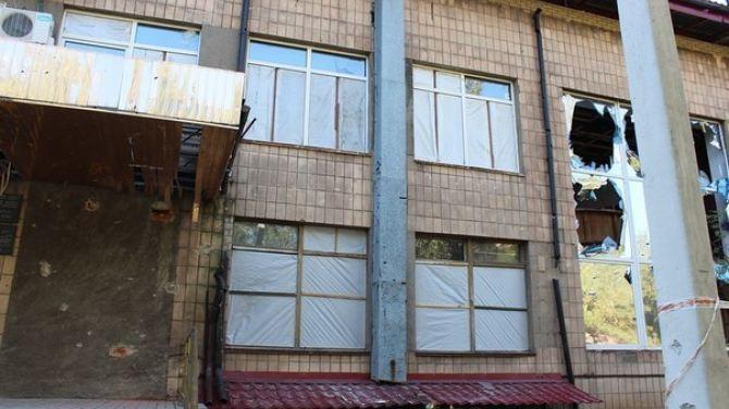 В Донецке от обстрела пострадал краеведческий музей +