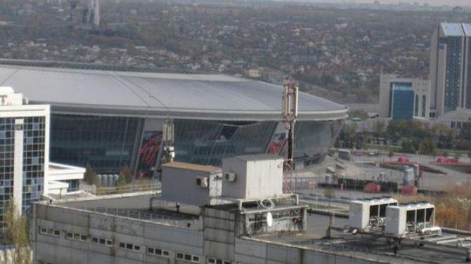 В Донецке мощный взрыв повредил «Донбасс Арену» (фото, видео)