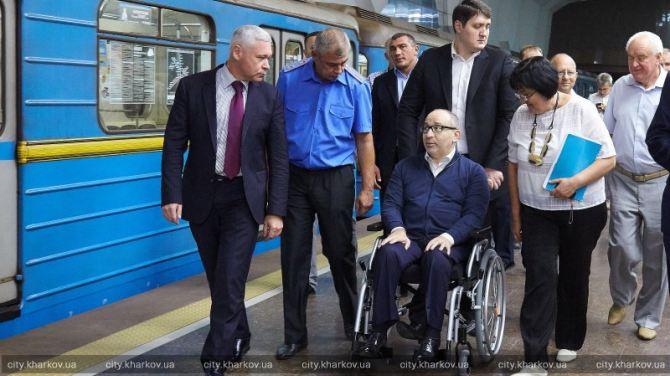 В Харькове началась обкатка поездов от станции метро «Победа» +