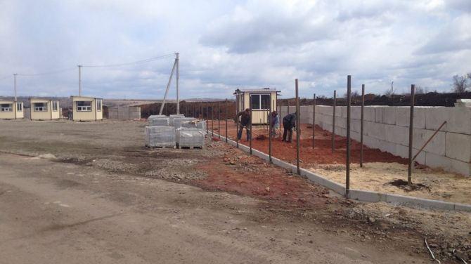 Строительство пункта пропуска в Золотом завершится 30 марта +