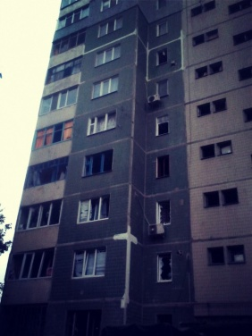 Расстрелянный Луганск: фоторепортаж из квартала Мирный
